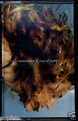 Madonna - Ray Of Light / Has To Be (Non-Album Track) 1998 Uk Cassingle