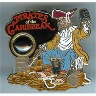 PIRATES Of CARIBBEAN A PIECE Of HISTORY III 2008 LE 3500 WDW DISNEY PIN 61217