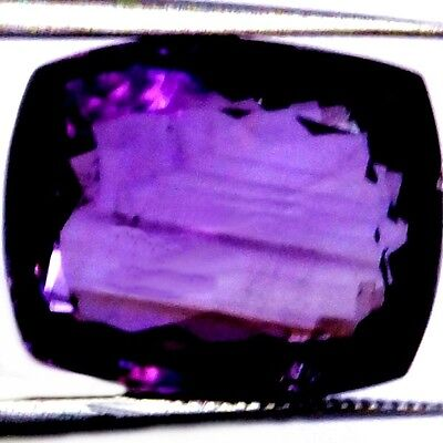 NATURAL PRETTY PURPLE  AMETHYST GEMSTONE (17.3 x 14.2 mm) LARGE CUSHION CUT