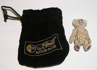 """STEIFF """"Button in Ear"""" -  METAL JOINTED BEAR Minature 5cm (4)"""