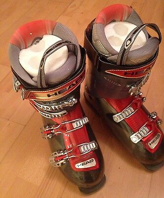Head ski boots Size UK 9 With Boot Bag