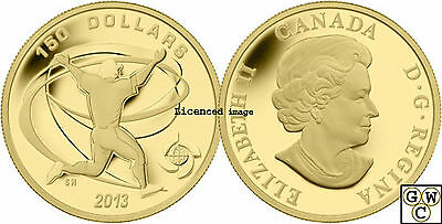 2013 Celebrate World Baseball Classic™ Proof $150 Gold Coin 1/2oz .9999(13115)NT