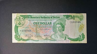 Belize 1980 One Dollar Bank Note