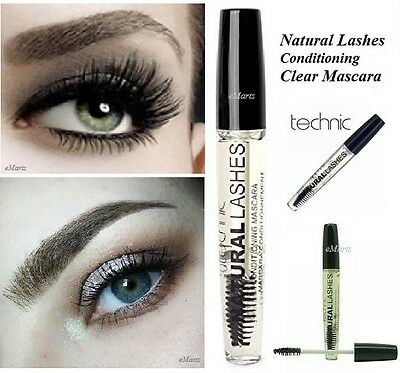 Technic Natural Lashes Clear Conditioning Mascara Eyebrow Shaping Gel (New)