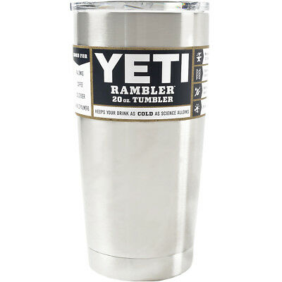 YETI Rambler Double Wall Vacuum Insulated Stainless Steel Tumbler - 20 oz.
