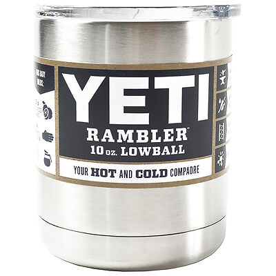 YETI Rambler Double Wall Vacuum Insulated Stainless Steel Lowball - 10 oz.