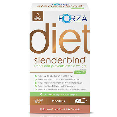 FORZA Slenderbind Weight Loss Medical Device - Leading Fat Binder Tablets