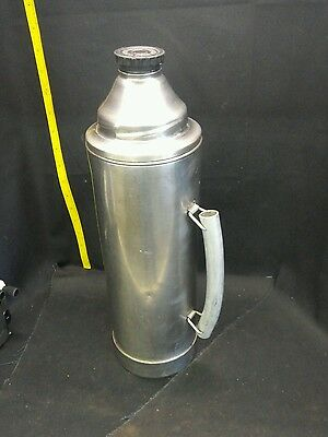 Vintage Uno Vac Stainless 2 qt. thermos