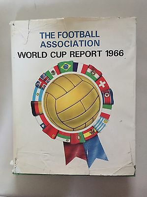 1966 World Cup Official Report Rare