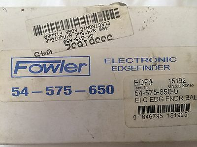 "Fowler 54-575-650 Electronic Edgefinder 0.400 Stylus 3/4"" chuck"