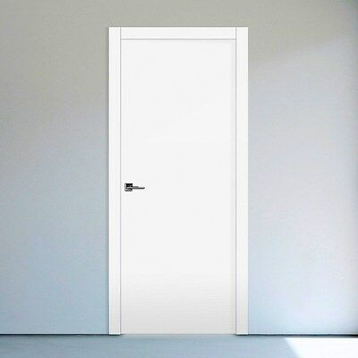 2040x820 Solid Core Door, Finished Painted Comes with Jambs Set Ready to Install