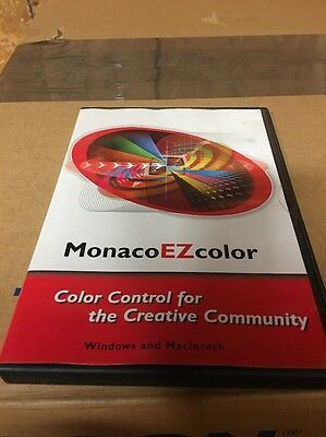 Monaco EZ Color by x-rite P/N 1486+EP New Sealed Package