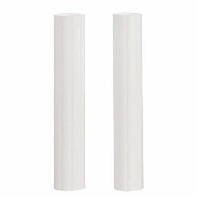 Hidden Cake Pillars White 6 Inch Trimable Pack Of 4 Hollow Plastic For Cakes