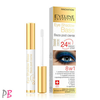 Eveline 8in1 Eyeshadow Base 24h Magic Stay Long Lasting Eye Primer Innovation