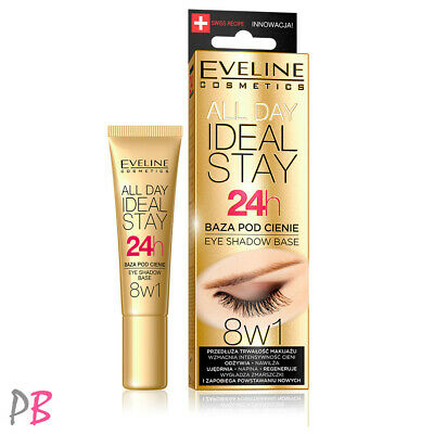 Eveline 8in1 Eye Shadow Base Primer  All Day Ideal Stay 24h Eye Eyeshadow