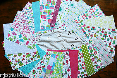 Jolly Pack D - 23 - 6x6 Papers & 6 Varied Extra Paper Embellishment Dbl Sided