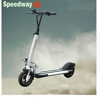 2017 New 52V 21Ah 600W Speedway 3 Bldc Hub Strong Power Electric Scooter Powerfu