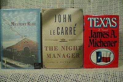 Texas James Michener Mystery Ride Robert Boswell John LeCarre The Night Manager