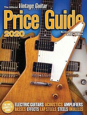 The Official Vintage Guitar Price Guide 2017 Book *NEW* Music