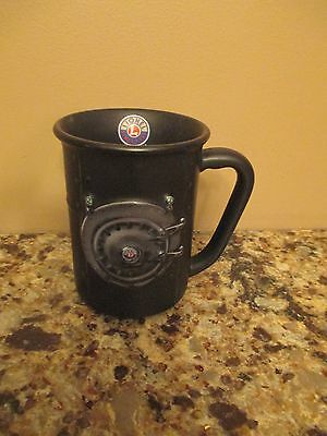 Lionel Electric Trains Coffee Mug - Embossed Engine Door on Front