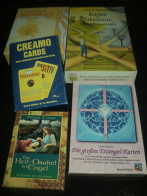 $20 Each - Other Language Oracle Cards Decks Boxed & Complete- Not Tarot Cards