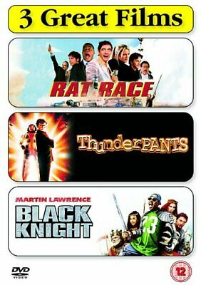 Rat Race/Thunderpants/Black Knight [DVD] - DVD  2IVG The Cheap Fast Free Post