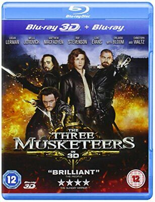The Three Musketeers (Blu-ray 3D + Blu-ray) - DVD  MWVG The Cheap Fast Free Post