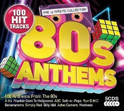 Various Artists - The Ultimate Collection: 80s Anthems - Various Artists CD 6GVG