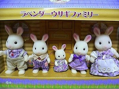 Sylvanian Families Calico Critters LAVENDER RABBIT FAMILY LIMITED Epoch Japan