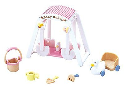 Epoch Calico Critters furniture baby swing set mosquito -208