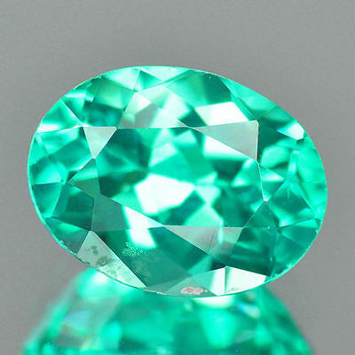 1.21cts VVS Amazing Oval Cut Paraiba Blue Green Natural Apatite Loose Gemstones