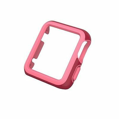 ☀️ $30 NEW SPECK CandyShell Fit Case Apple Watch 42mm Crimson Red + Splash Pink