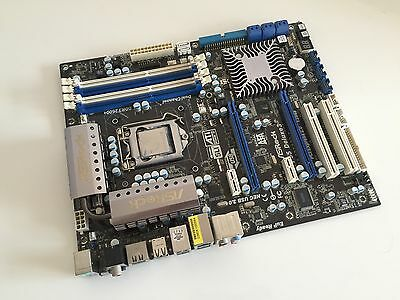 Intel i7-870 2.93 GHz CPU Gaming Combo Motherboard P55 And 8Gb Ram