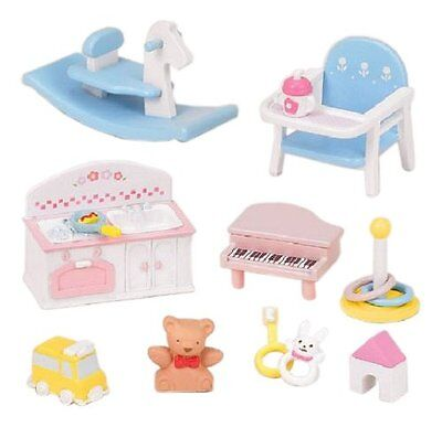 Epoch Calico Critters furniture baby toys set KA -211
