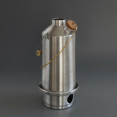 1.5L Original Storm kettle with full kit and base stand.