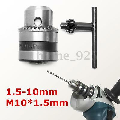 Angle Grinder Chuck Adapter 1.5-10mm Mount M10 for Electric Drill Power Tool