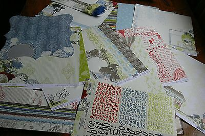 Webster ALL ABOUT ME Collection Kit 12x12-Letters Embellishments & Ribbon