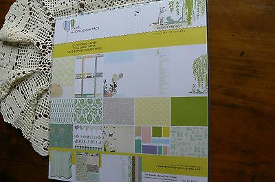 Webster BEST FRIENDS Collection Kit 12 Patterned 12x12 -1 Die-Cut 12x12 Letters