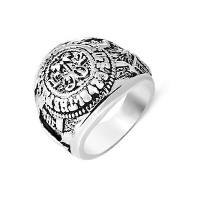 House Of Cards Ring Frank's Ring Vintage Retro Fashion Jewelry For Men And Women
