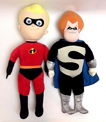 The Incredibles Dash & Syndrome Talking Plush (Disney) Preloved Collectables