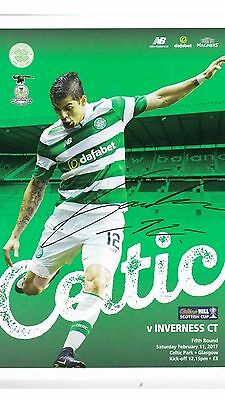 Celtic v Inverness Caley Thistle Feb 11th 2017 Mint Programme ⚽️ Scottish Cup