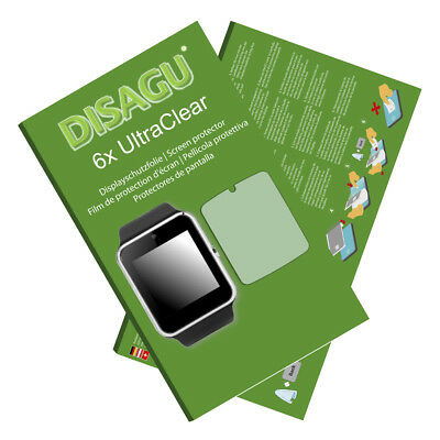 6x UltraClear Screen Protector for GT08