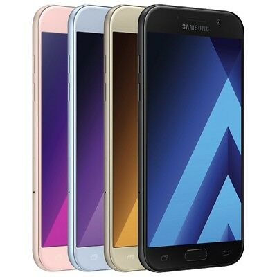 Samsung Galaxy A5 2017 A520F Android Smartphone Handy Ohne Vertrag Lte/4G Wlan