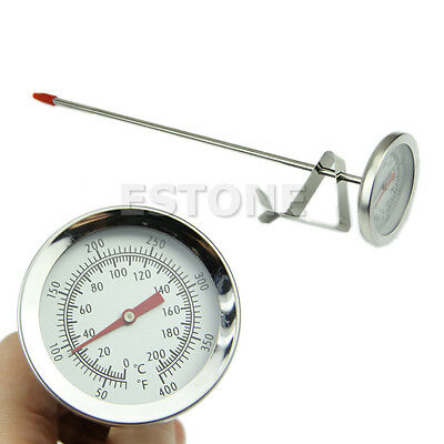 Steel Stainless Kitchen Deep Fry BBQ Probe Thermometer 200°C Response 5 Seconds