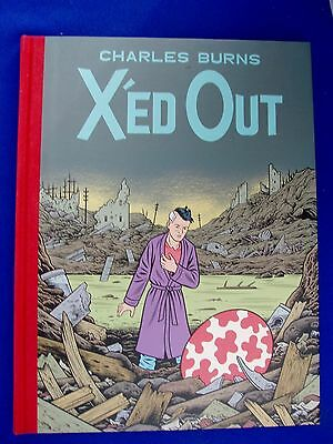 X'ed Out Charles Burns. Hard cover, 1st, new. Horror..