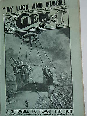 """""""Vintage""""...GEM COMIC...18th march 1916..........St.Jims.........FREE POSTAGE"""