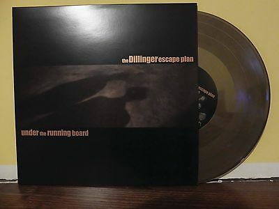 dillinger escape plan - under the running board lp gold edition (limited to 250)