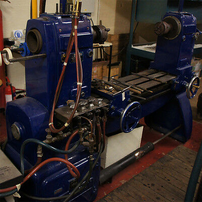Large Heathway Glass Lathe