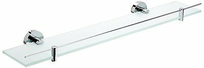 Kosmos 1115629 600 mm Stainless Steel and Zinc Alloy Haceka Glass Shelf, Silver