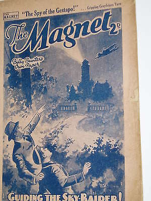 """""""Vintage""""...MAGNET COMIC.....4th May 1940.....BILLY BUNTER .......FREE POSTAGE"""